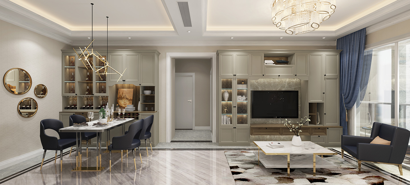 Parlors+Dinning rooms